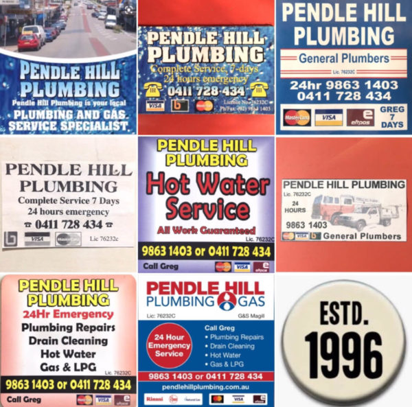 Pendle Hills Plumber since 1996